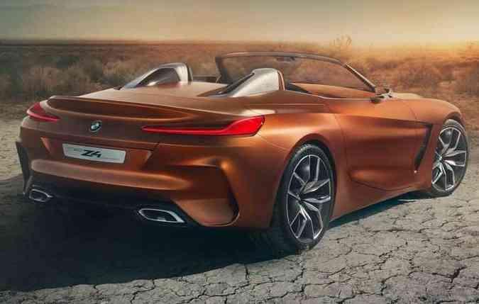 Design se destaca pelo estilo esportivo, esperando o mesmo nos carro de produção(foto: BMW/Divulgação )