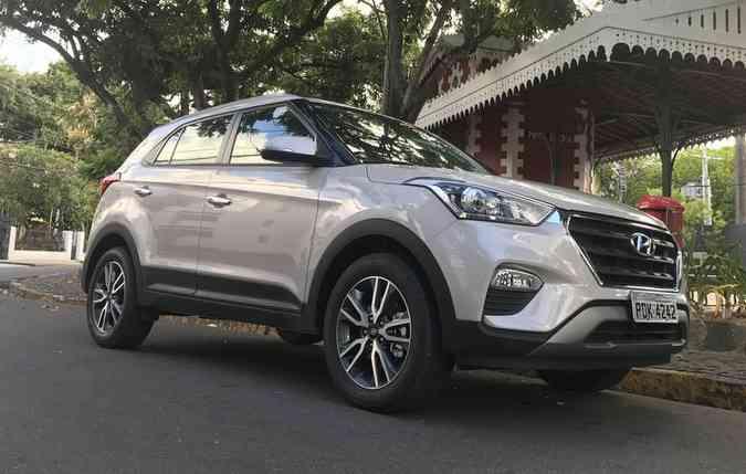 Hyundai Creta surpreende e aparece como o SUV mais vendido no Brasil. Foto: Jorge Moraes / Divulgação