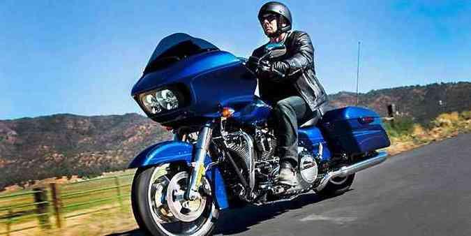 Novo modelo incorporou as modernizações do chamado Projeto Rushmore(foto: Harley-Davidson/Divulgação)