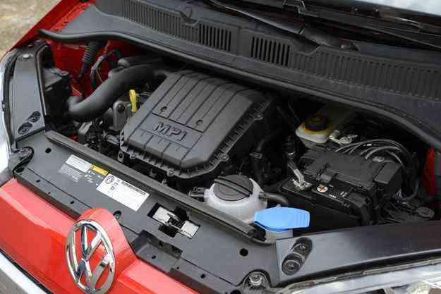 Motor 1.0 de três cilindros: econômico e com bom desempenho - Thiago Ventura/EM/D.A Press