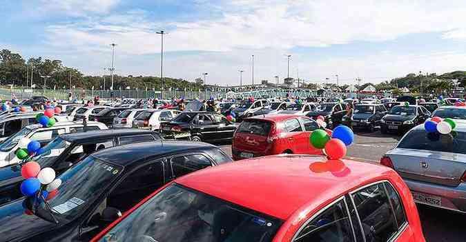 Local tem capacidade para 2 mil veículos(foto: Pedro Vilela/i7/divulgação)