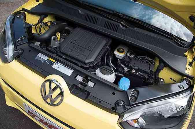 EA211 de três cilindros apresenta bom desempenho e economia surpreendente (foto: Thiago Ventura/EM/D.A Press)