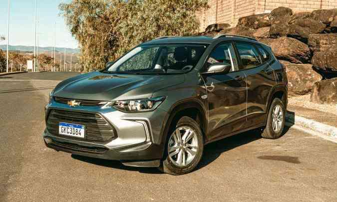 Novo Chevrolet Tracker: terceira geração do modelo trouxe muitas novidades(foto: Jorge Lopes/EM/D.A Press)