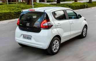 Compacto lançado há pouco figura entre os dez mais vendidos nos últimos dois meses(foto: Fiat / Divulgação)