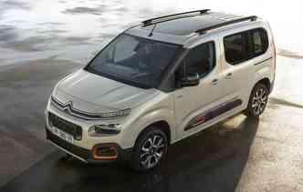 Terceira geração do Berlingo mudou desing interno e externo. Foto: Citroën / Divulgação