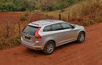 Atualmente, o XC60 é responsável por 53% das vendas da Volvo Cars no mercado nacional(foto: Volvo / Divulgação)