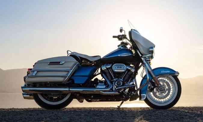 Serão 1500 unidades numeradas e produção jamais repetida (foto: Harley-Davidson/Divulgação)
