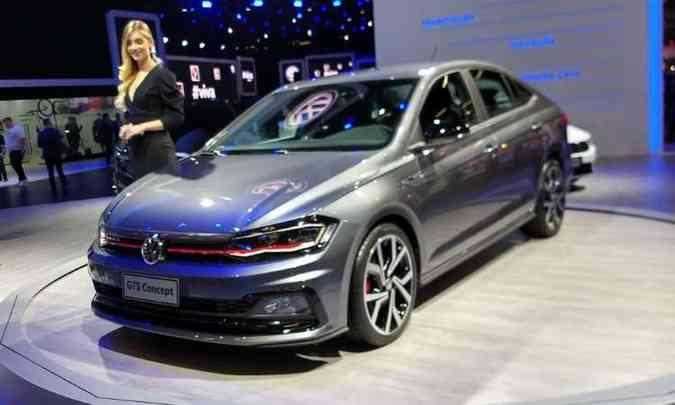 Volkswagen Virtus GTS(foto: Pedro Cerqueira/EM/D.A Press)