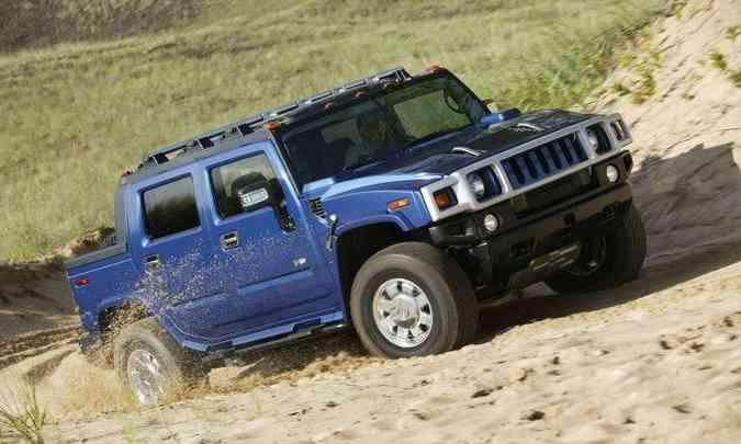 Picape do Hummer H2(foto: GM/Divulgação)