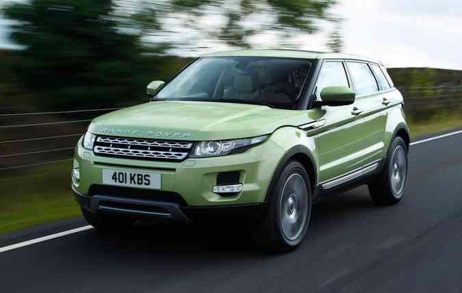 Comparativo Range Rover. Foto:Divulgação