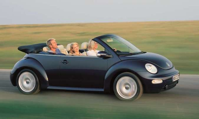 New Beetle, a segunda geração do modelo, foi lançado em 2008(foto: Volkswagen/Divulgação)