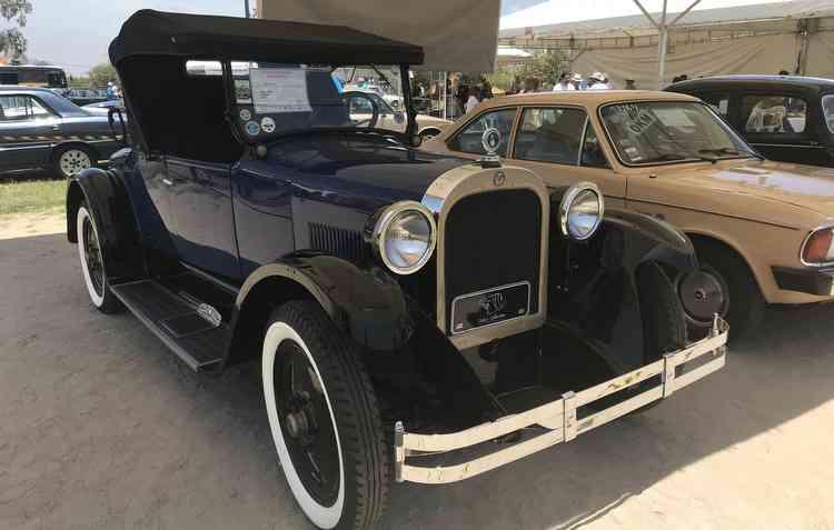 Dodge de 1925 foi o automóvel mais antigo do evento - Thaina Nogueira / DP