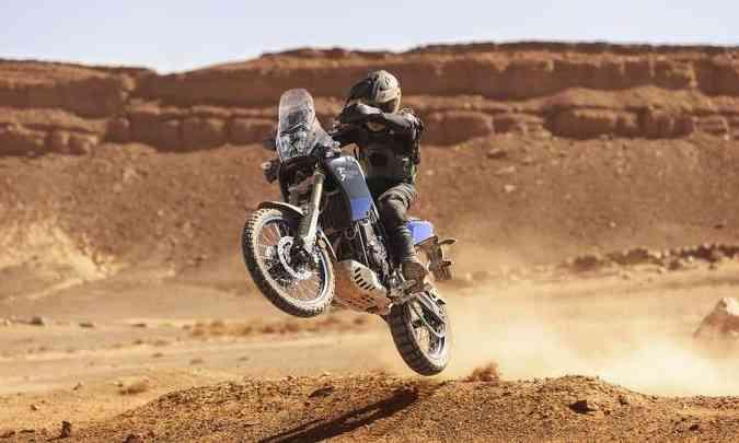 A Ténéré 700 incorporou muitas soluções usadas nas motos de rali de competição(foto: Yamaha/Divulgação)