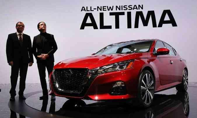 Novo Nissan Altima(foto: Drew Angerer/AFP)