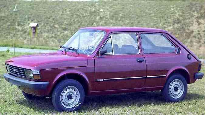 Fiat 147 é o modelo mais antigo envolvido no recall(foto: Fiat/Divulgação)
