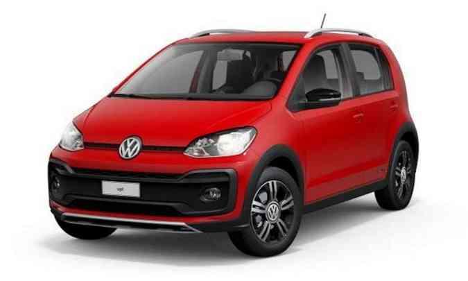 O VW up! agora é vendido somente na versão Xtreme 1.0 TSI, por R$ 60.090(foto: Volkswagen/Divulgação)