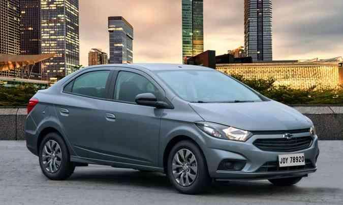 Chevrolet Prisma passa a se chamar Joy Plus e usa a carroceria reestilizada em 2016(foto: Chevrolet/Divulgação)