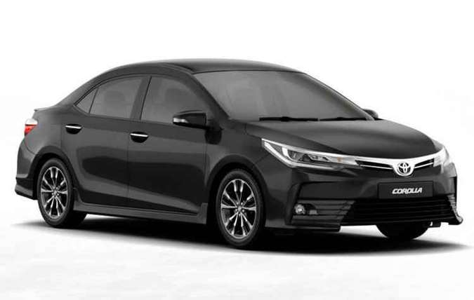 Toyota também suspendeu as vendas do Corolla GLi(foto: Toyota/Divulgação)
