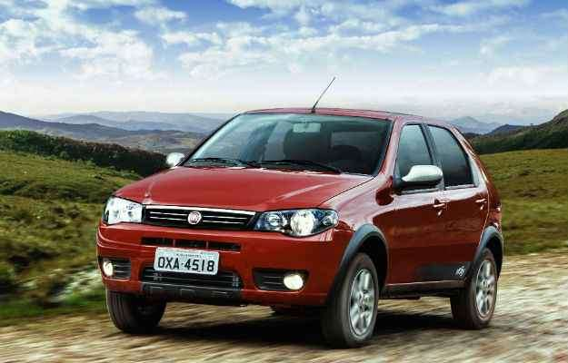 Palio foi o carro mais vendido em junho, mas no geral, ainda aparece na segunda posição - Studio Cerri/Divulgação