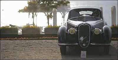 O Alfa Romeo 8C 2900B Berlinetta Touring, de 1938, foi o grande vencedor  - Fotos: BMW/Divulgação