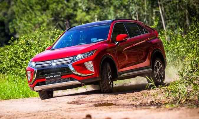 O novo SUV fabricado no Japão tem no design um de seus pontos fortes(foto: Mitsubishi/Divulgação)