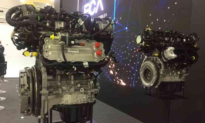 Os motores GSE 1.0 e 1.3 turbo vão equipar modelos da Fiat e da Jeep(foto: Enio Greco/EM/D.A Press)
