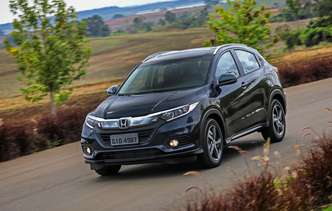 Facelift global do utilitário foi suave e trouxe luzes diurnas para os novos faróis. Foto: Honda / Divulgação