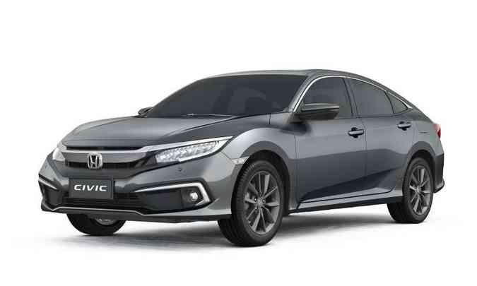 A versão EXL teve o preço alterado de R$ 118.700 para R$ 124 mil(foto: Honda/Divulgação)