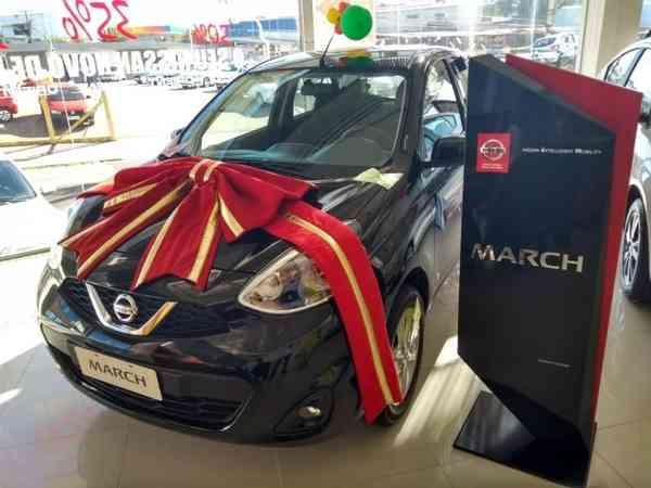 Nissan March Sv 1.6 16v Flexstart 5p Mec. 2019 R$ 53.900,00 MG VRUM