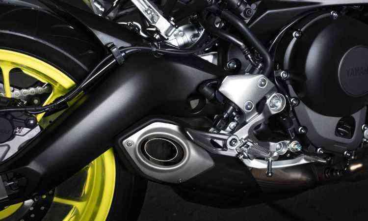 O motor tem três cilindros paralelos e controle na abertura do acelerador - Yamaha/Divulgação