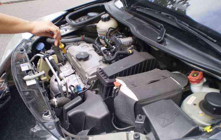 Óleo do motor deve ser trocado para não haver contaminação - Rafaella Magna / Esp. DP