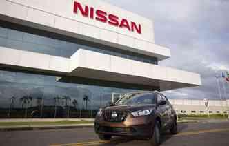 Modelo começou a ser fabricado no Brasil em 2017. Foto: Nissan / Divulgação
