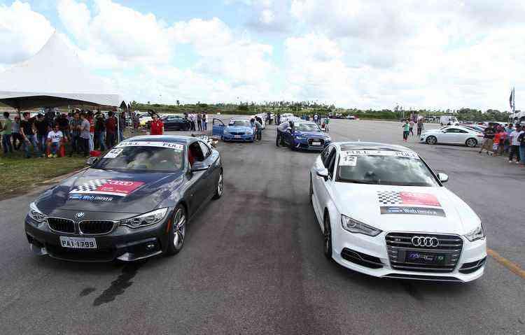 BMW M3 e o Audi RS6 foram os modelos de destaque - Marlon Diego/DP