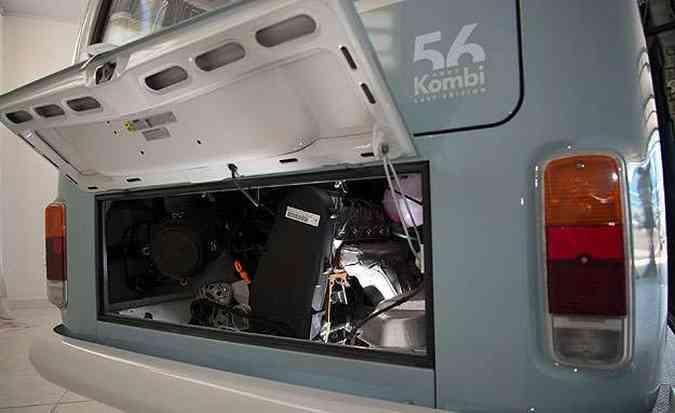 Motor é o mesmo 1.4 flex de 80 cv com etanol(foto: Thiago Ventura/EM/D.A Press)