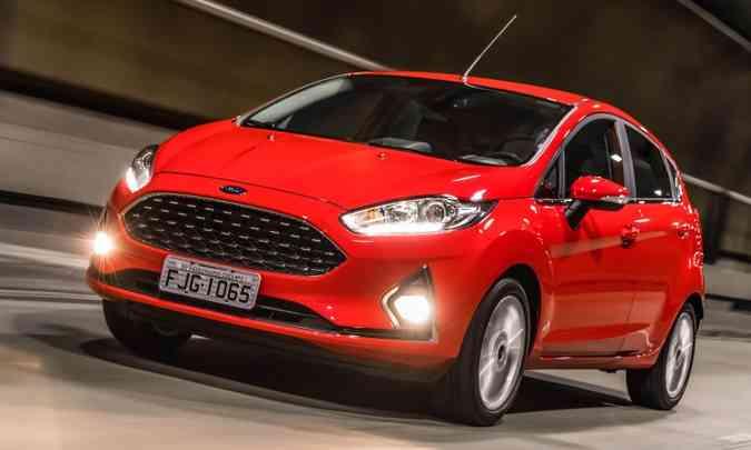 Ford Fiesta em 2019(foto: Ford/Divulgação)