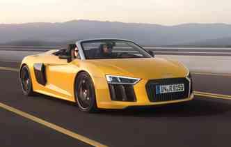 Modelo pesa apenas 1.720 kg(foto: Audi / Divulgação)