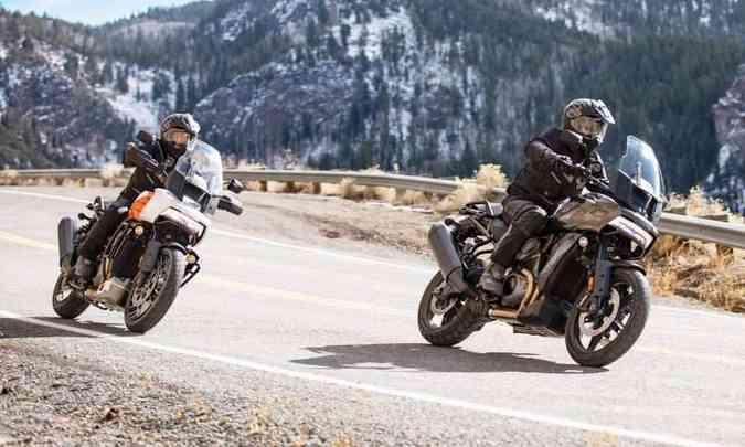 As versões Special e Standard se diferenciam no emprego maciço da eletrônica(foto: Harley-Davidson/Divulgação)