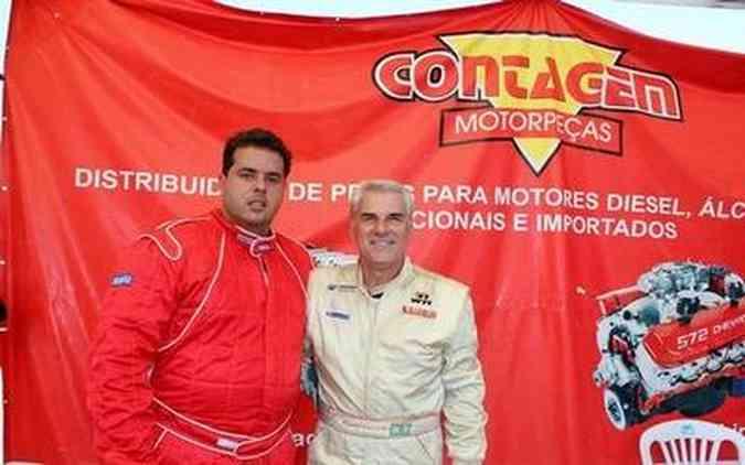 Ricardo Lima (nº 17), à esquerda, e Edgar Amaral (nº 177), vieram de São Paulo para competir no Mega Space
