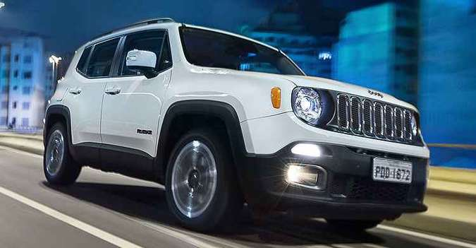 Jeep Renegade vendeu 5.623 unidades em outubro(foto: Jeep/Divulgação)