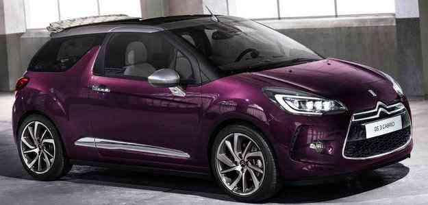 DS3 Cabrio tem três opções do motorização - Citroen/divulgacao