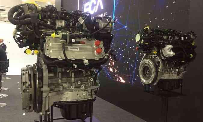Os novos motores turbo da marca italiana equiparão modelos de diferentes segmentos(foto: Enio Greco/EM/D.A Press)