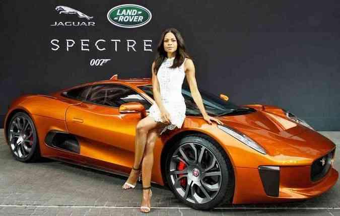 O conceito foi produzido especialmente para o filme(foto: Jaguar / Divulgação)