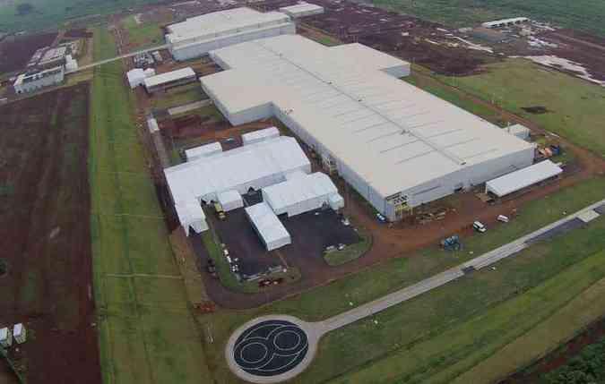 Planta de Iracemápolis teve investimento de cerca de R$ 600 milhões(foto: Mercedes-Benz/Divulgação)