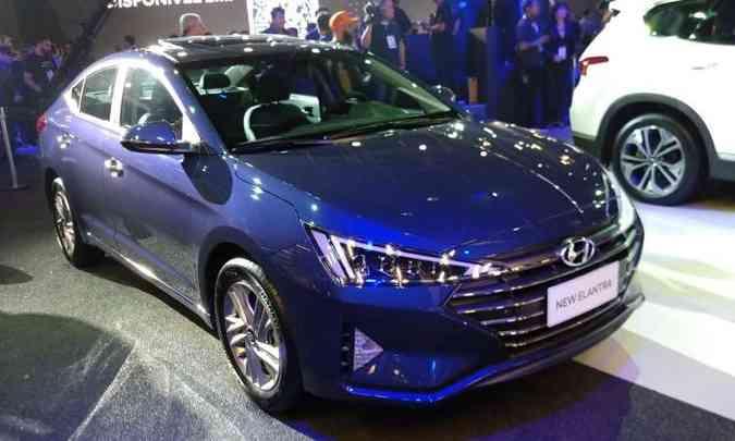 Novo Hyundai Elantra(foto: Pedro Cerqueira/EM/D.A Press)