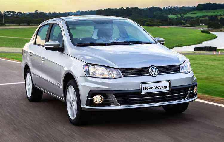 Voyage segue no ranking dos sedãs mais procurados do Brasil com 4.400 emplacamentos só no mês de março - Volkswagen/divulgação