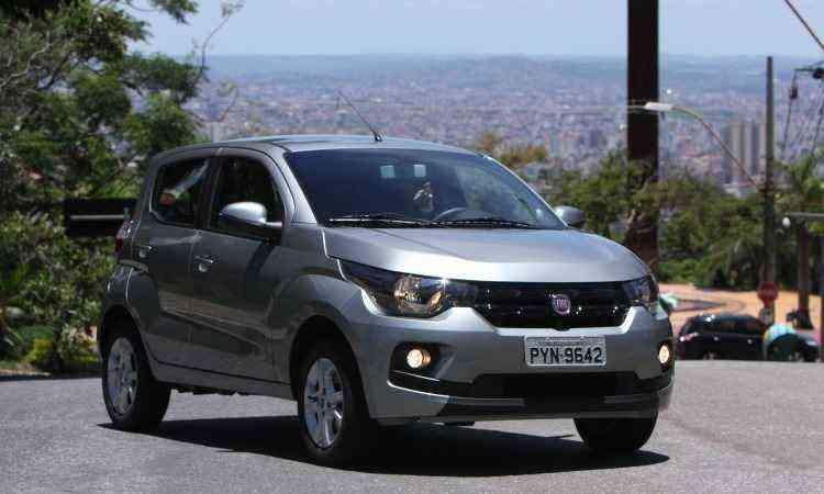 Fiat Mobi 1.0 Drive - Edésio Ferreira/EM/D.A Press