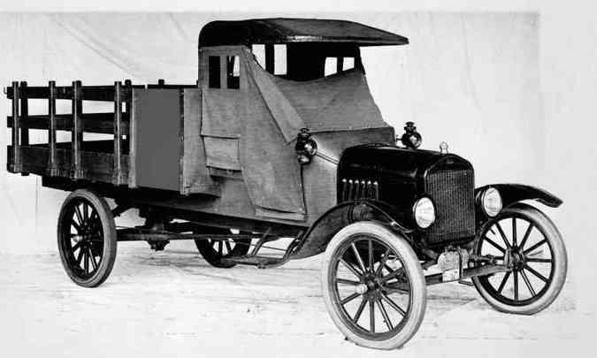 1917: Modelo TT(foto: Ford/Divulgação)
