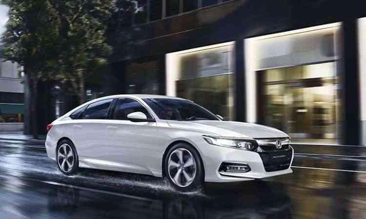O novo Accord tem design mais ousado, com linhas semelhantes às do Civic - Honda/Divulgação