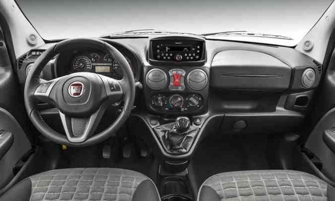 Interior do Fiat Doblò Adventure(foto: Fiat/Divulgação)