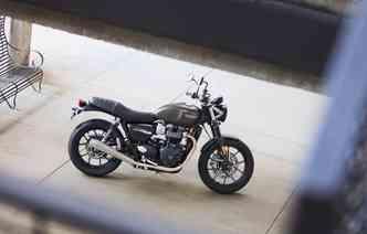 Modelo parte dos R$ 40.300 e é pensada para quem quer customizar. Foto: Triumph / Divulgação